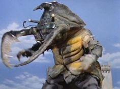 Antlar from Ultraman Japanese Funny, Japanese Film, Godzilla Toys, Strange Beasts, Robot Monster, Monster Costumes, Vintage Robots, Japanese Monster, Creature Feature