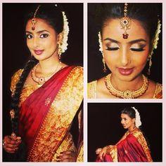 Pretty tamil bride;**