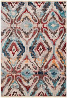 Create a welcoming environment with this traditional United Weavers Monaco Mont Agel Abstract rug. In multi. Area Rugs Cheap, Polyester Rugs, Transitional Rugs, Home And Deco, Accent Rugs, Cool Rugs, Colorful Rugs, Rug Runner, Print Patterns