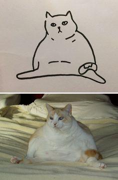 Quand votre prof ne cesse de dire que vous êtes incapable de dessiner des chats, mais vos peintures sont photoréalistes | ipnoze