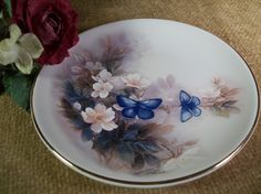 Lena Lici Decorative Plate Blossoms and by SpringJewelryThings, $8.95