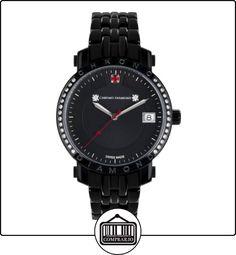 Chrono Diamond 82133_schwarz-35 mm - Reloj para mujeres, correa de metal color negro  ✿ Relojes para mujer - (Lujo) ✿