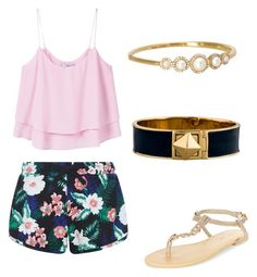 """""""Vacation Cutie"""" by courtney-eckerle on Polyvore featuring New Look, MANGO and Kate Spade"""