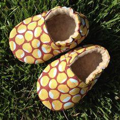 Acorn Tumble Baby Booties by Happy Solez