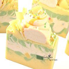 Pineapple Jasmine Handmade Vegan Cold Process Artisan by svsoaps