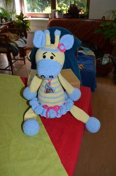 žirafka pre Amelie....autorka návrhu: KAMLIN
