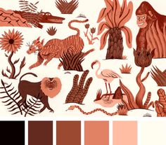 Would be nice exercise to pick a palette then create.