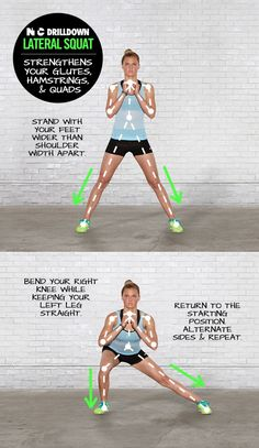 Lateral #squat #legexercise #buttexercise