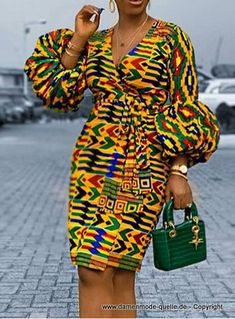 African Party Dresses, Short African Dresses, Latest African Fashion Dresses, African Print Fashion, Nigerian Dress Styles, Africa Fashion, Mode Outfits, Fashion Outfits, African Attire
