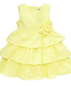 yellow is soo pretty on little girls!