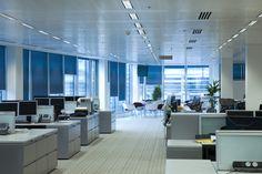 Sonniges und strahlendes Klima auch an nassen und kalten Regentagen. Mehr Infos: http://www.werkzeugweber.de/beraten-planen-liefern/ #office #blue #sun #company #employee #lights