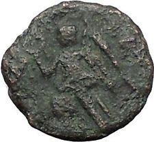 "VALENS ""Last True Roman"" 367AD AE4 Ancient Roman Coin Victory Cult Angel i56184"
