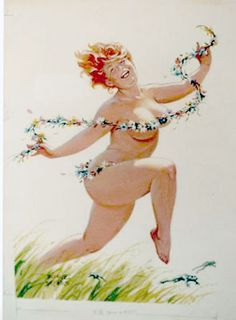 Hilda! The Dirty Lady Pin-up Girl | The Dirty Lady's Garden Gazette