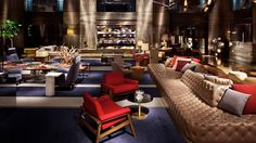 cool hotel lobby - Google Search