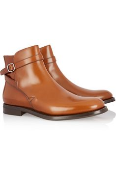 Church's | Merthyr glossed-leather ankle boots | NET-A-PORTER.COM