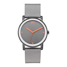 Shop Danish Design ladies watch ✓ free delivery ✓ free returns on eligible orders. Danish Design, Steel, Watches, Grey, Leather, Accessories, Orange, Gray, Clocks