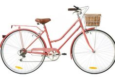 6 Speed Watermelon Vintage Ladies Bike by Reid Cycles