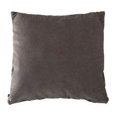 Samettinen tyynynpäällinen 50x50 cm, beige