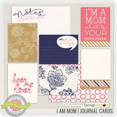I Am Mom | Journal Cards