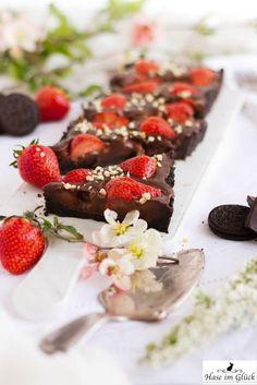 Schokoladentarte ohne Backen Ich mag oreos nicht also würde andere Kekse für den Boden verwenden.