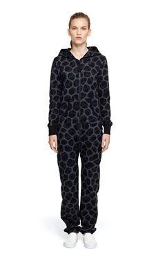 Onepiece Tryphobia Jumpsuit Black Printed