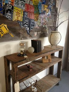 Pallet Hall Table With Diy