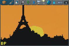 One Day in Paris ! #pixelart #Paris
