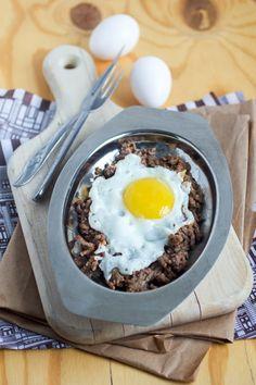 ground beef eggs recipe   recipe for eggs with ground beef   easy cimbur   balkan eggs with ground beef   čimbur   omelette with ground beef recipe   balkan egg recipe