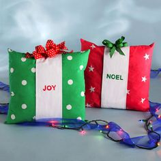 Perfect package pillows #pillows #pinittowinit