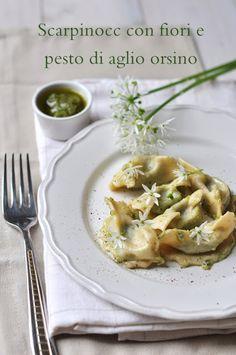Scarpinòcc fiori e pesto.. di aglio orsino | ESSENZA IN CUCINA