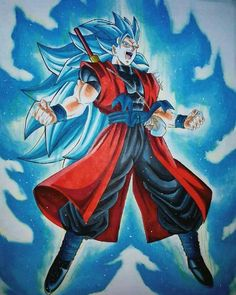 Son Goku SSJBlue 3
