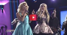 "Meghan Trainor and Miranda Lambert rock the stage at the CMA Awards with ""All About That Bass"" They are so cute!!"