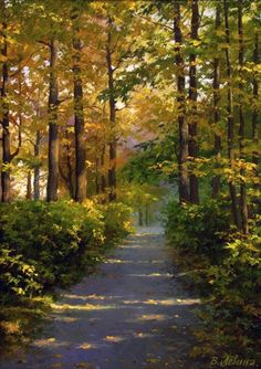 Levin, Victoria V (b,1973)- Forest Path, Wide