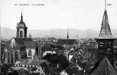 Vue de Colmar Alsace / France www.tourisme-colmar.com