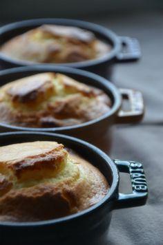ストウブで「ゆず茶とクリチのマフィン」バターをオイルに変えて。