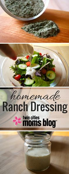 Homemade Ranch Dressing - No More Packets with Scary Ingredients | Twin Cities Moms Blog