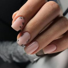 Image in Nails / Nail Polish / Vernis / Manicure collection by Mouna DramaQueen Elegant Nail Designs, Nail Art Designs, Nails Design, Classy Nails, Simple Nails, Gorgeous Nails, Pretty Nails, Hair And Nails, My Nails