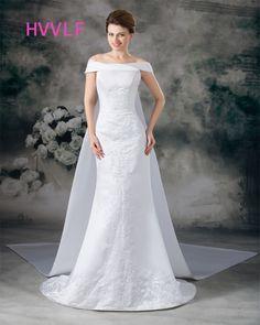 Vintage 2017 Wedding Dresses Mermaid Cap Sleeves Embroidery Boho Cheap Plus  Size Wedding Gown Bridal Dresses Vestido De Noiva 0ce61b827955