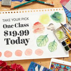 Sponsor // Learn and save with Craftsy! One class for $19.99