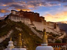 Potala Palace in Lhasa, Tibet. Worth the climb, I assure you.