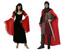 Pareja Disfraces de Medievales #parejas #disfraces #carnaval