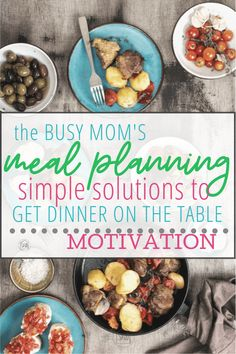 Simple Menu Planning for Busy Moms - Simple. Home. Blessings