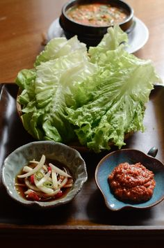 How to make Korean BBQ topping sauces - Brisket Sauce, Soy Brine Onion Topping (양파절임, yangpa jeulim), Bean Paste Topping Sauce (쌈장, Ssam-jang)