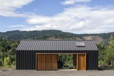 Located within the apple and pear orchards of the Hood River Valley, the project consists of an 820 square foot structure used to house tractors and farm equipment with an associated parking area ringed by landscaped walls and pathways. It is oriented North-South, in harmony with the site's...