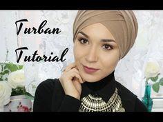 TURBAN TUTORIAL   V FOLD - YouTube
