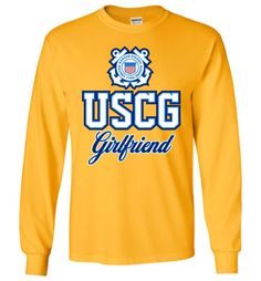 USCG Coast Guard Girlfriend Long-Sleeve T-Shirt