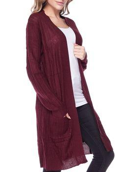 Women Cardigan Shawl Collar Gray Beige Women/'s Stretch Cardigan Open Fine Knitted Jacket Knitted Blazer One Size 78 Sleeve Women/'s Knitwear