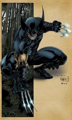 Blood Thirsty Wolverine from X-Force