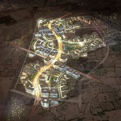 SOM is leading a multidisciplinary team for the design of Godrej Garden City, a massive mixed-use development. Situated on 105 hectares of land about three kilometers outside of the historic center of Ahmedabad, the plan calls for residential, commercial,