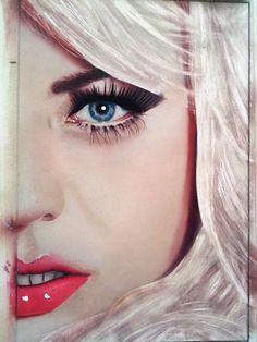 acrylic paint on canvas www.miriamarroyo.mx